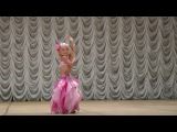 Ангелина Галушкина 5 лет. Танец живота.